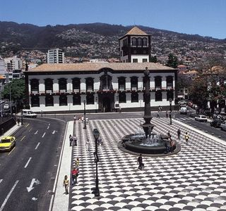 Funchal apartment rental - City square about 15 min walk