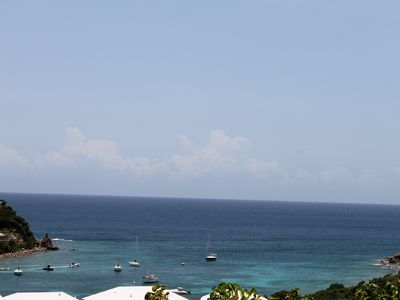 Chocolate Hole villa rental - View the Caribbean Sea from Poi Pu