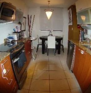 Fully equipped kitchen ,stainless steel appliances