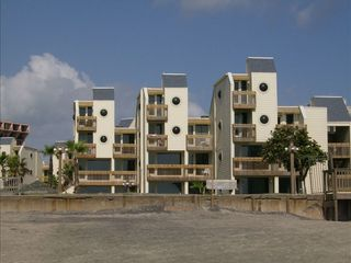 South Padre Island condo photo - A view of the condo from the beach