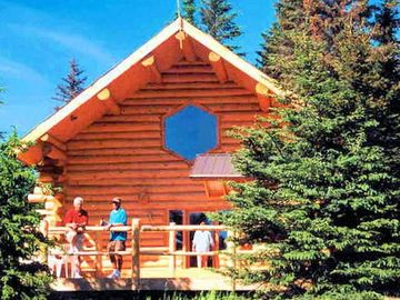 Homer house rental - Wise Old Hunter Lodge at Bear Paw Adventure