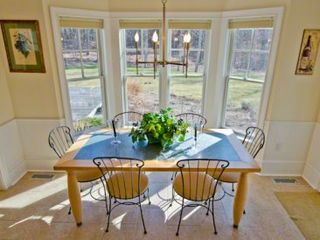 Vineyard Haven house photo - Kitchen Has Casual Eating Area In Sunny Bay-Window