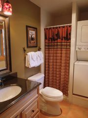 Breckenridge Peak 9 condo photo - Newly Updated 3rd bathroom with laundry and supplies