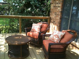Cedar Creek Lake house photo - Relax on the new deck