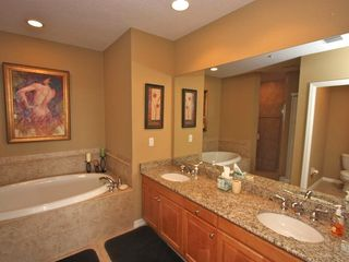 Clearwater Beach condo photo - Master Bath /Shower ,Soaking Tub,Water Closet/Dual Sinks .