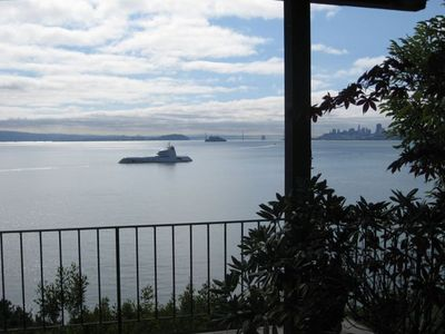 Best sausalito location unobstructed views vrbo for Vacation rentals san francisco bay area