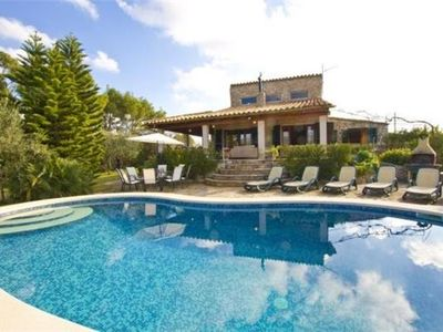 Cottage for 8 people, with swimming pool, in Inca