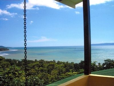 Playa Zancudo house rental - Master Bedroom Veranda and View..