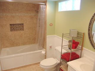 Crystal River house photo - Full Bathroom with Shower, Tub features built in heater and jets