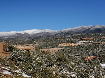 Snow Covered Sangre de Cristo View