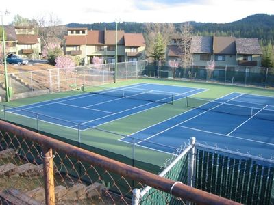 One of the two Tennis Complexes
