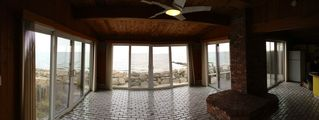 Yarmouth cottage photo - Large glass walled living room offers spectacular panoramic ocean views