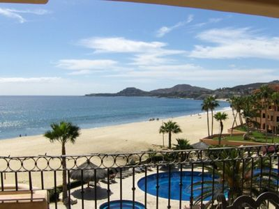 San Jose del Cabo condo rental - Looking at Palmilla from our deck