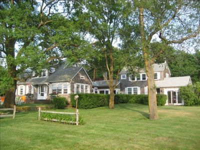 Edgartown house rental - Comfortable family home overlooking Eel Pond in Edgartown.
