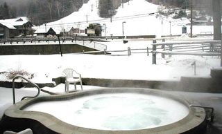 Bartlett condo photo - outdoor heated jacuzzi