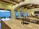 Kitchen overlooking great room.