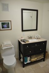 Carmel bungalow photo - Newly remodeled bathroom