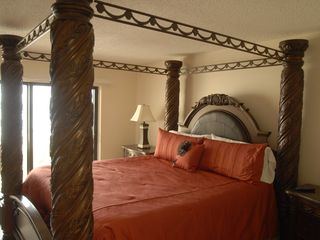 Cape Canaveral condo photo - Master bedroom with King bed