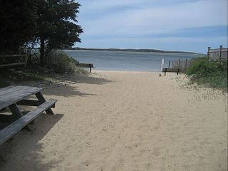 Yarmouth house photo - Private Beach area access on Lewis Bay