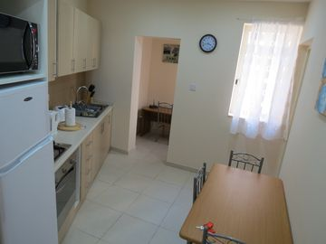 Flat fifty eighty kitchen dining area