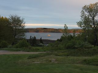 Perry cottage photo - Beautiful view of the bay at sunset!