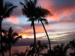 Lahaina condo photo - Sunset View Taken From Our Lanai