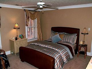Stone Mountain house photo - Second floor bedroom with queen size bed and huge bathroom.