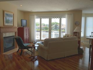 Manistee condo photo - Open living area