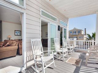 St. Augustine cottage photo - Enjoy sweeping ocean views from our 3rd floor balcony