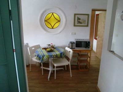Tel Aviv apartment rental - Dining area of kitchenette