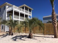 3 Bd 2 1/2 Bath Home. Corner Lot, 2 Blocks From Beach. With Beach View