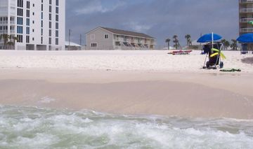Ono Island Orange Beach townhome rental - View of Townhome from the Beach