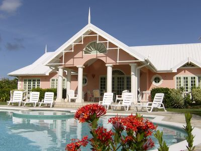 Tobago villa rental - Patio and swimming pool