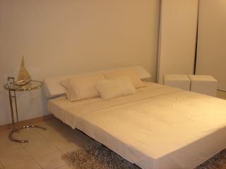 Isla Verde apartment photo - Living area with sleeper sofa