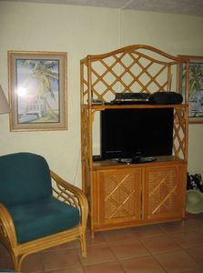 "Armoire with new 32"" LCD\HD Television"