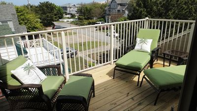 Third Floor Balcony...Relax and enjoy the ocean air and sound of the waves!