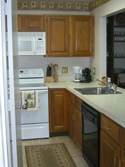 Brigantine townhome photo - Kitchen, fully stocked