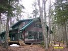 Pirate Point Cabin easily sleeps six. - South Bristol cabin vacation rental photo