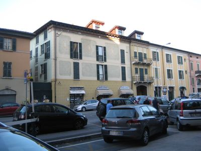 Brescia: A 2 km from the center BRESCIA a studio with a kitchenette with all the comforts of a hotel of €. 220.00 weekly bed linen, towels, final cleaning included