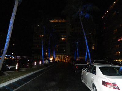 Entrance at Night