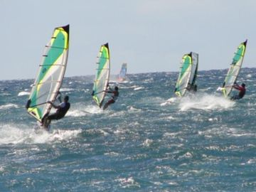 Windsurfing at kihei & kanaha