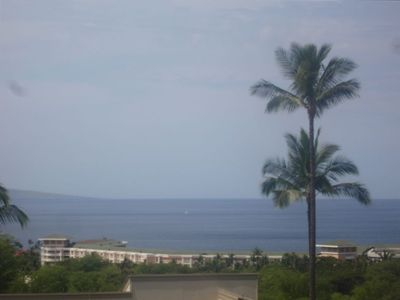 Daytime view from our Lanai
