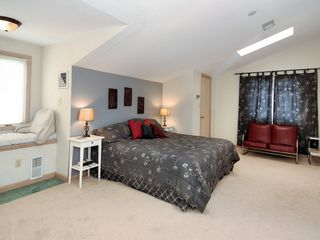 Bethany Beach house photo - top floor bedroom suite with reading alcove (king size bed)