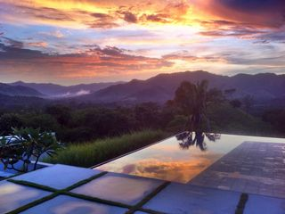 Nicoya house photo - Sunset from the pool