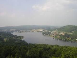 View of Deep Creek Lake from Villa