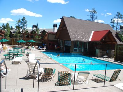 Upper Village Community Pool - within walking distance of condo