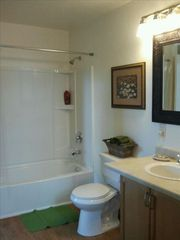 Durango cabin photo - Full large bathroom.