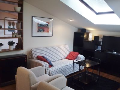 Attic, well located, 2 people-Wifi