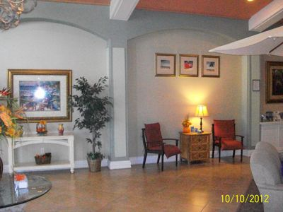 Island Club West townhome rental - Club House Front Lobby