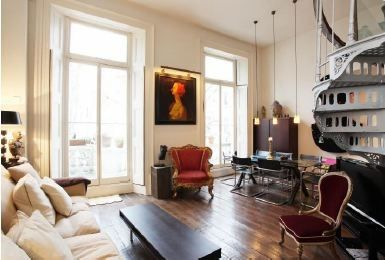 Kensington & Chelsea Vacation Rental - VRBO 382679 - 1 BR London ... - Eclectic Ceilings